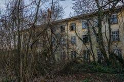 Местность покинутая и фабрика Стоковые Фото