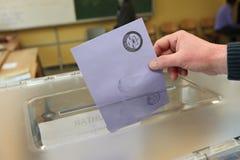 Местные выборы в Турции. стоковые фото