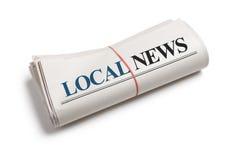 местные новости Стоковая Фотография RF