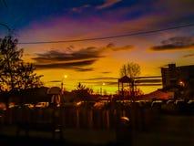Местные облака стоковые фотографии rf