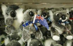 Местные сувениры на дисплее в Мельбурне стоковая фотография rf
