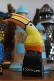 Местные сувениры на рынке пляжа на пляже Bavaro в Punta Cana, Доминиканской Республике стоковая фотография rf