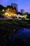 Местные сцены от пляжей Таиланда - Паттайя стоковая фотография rf