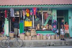 Местный магазин в малом центральном городке Amrican Стоковое Изображение
