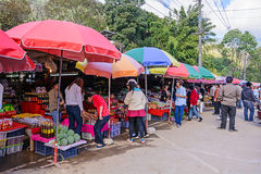 местный рынок Стоковое Изображение