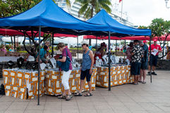 местный рынок Стоковое Изображение RF