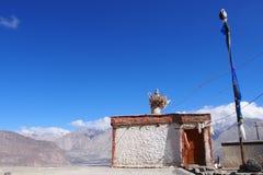 Местный северный дом Индии стоковое изображение rf