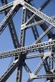местный стальной мост стоковое изображение