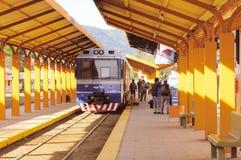 Местный тепловозный поезд Стоковые Изображения