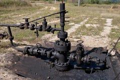 Месторождение нефти Стоковое Изображение
