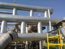 Месторождения нефти оборудования Стоковое Изображение RF