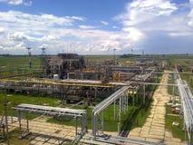 Месторождения нефти оборудования Стоковые Изображения RF