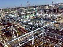 Месторождения нефти оборудования Стоковые Изображения