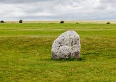 Место Англия Стоунхенджа археологическое стоковые фото