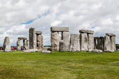 Место Англия Стоунхенджа археологическое стоковая фотография