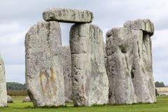 Место Англия Стоунхенджа археологическое стоковое фото