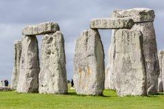 Место Англия Стоунхенджа археологическое стоковые фотографии rf