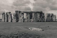 Место Англия Стоунхенджа археологическое стоковое изображение rf