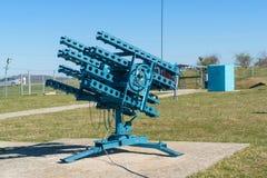 Место анти- ракетной установки окликом внутреннее и анти- hailstorm предохранения Стоковое фото RF