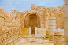 Место алтара в старой церков Стоковое Фото
