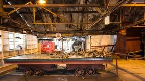 Место большой ямы промышленное в Уэльсе, Великобритании стоковое фото