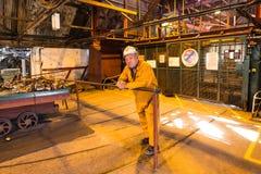 Место большой ямы промышленное в Уэльсе, Великобритании стоковое фото rf