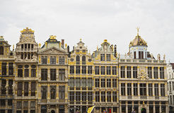 Место Брюсселя грандиозное, Бельгия Стоковые Фото