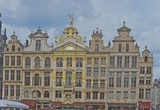 Место Брюсселя грандиозное, Бельгия Стоковые Изображения RF