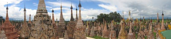 место буддиста священнейшее Стоковое Изображение