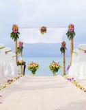 Wedding на пляже. Стоковая Фотография RF