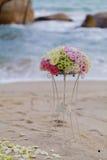 Wedding на пляже. Стоковое Фото