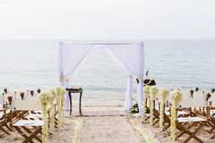 Wedding на пляже. Стоковые Фото