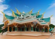 Место виска Watpaphukon религиозных буддистов в Udon Thani, Таиланде стоковые изображения