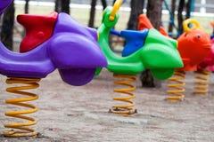 Место времени потехи спортивной площадки детей Стоковое Изображение
