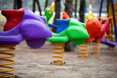 Место времени потехи спортивной площадки детей Стоковое Фото