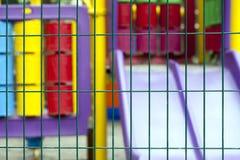 Место времени потехи спортивной площадки детей Стоковое фото RF