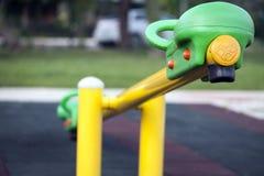 Место времени потехи спортивной площадки детей Стоковое Изображение RF