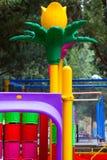 Место времени потехи спортивной площадки детей Стоковая Фотография
