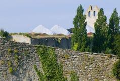 Место всемирного наследия ЮНЕСКО visby в sweden.GN Стоковое фото RF