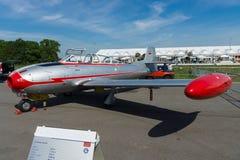 2-место выдвинуло тренера Hispano HA-200D Saeta двигателя, конструированного Willy Messerschmitt стоковое фото