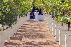 Место где свадьбы держатся стоковые изображения