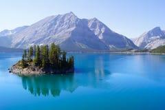 место горы озера Стоковое Изображение