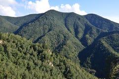 Место горы Стоковое Изображение
