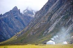 Место для лагеря ранчо осени Стоковое фото RF