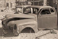 место для парковки s автомобиля последнее старое Стоковое фото RF