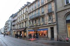 Место Европа архитектуры улицы Стоковые Изображения