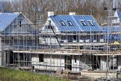 Место жилищного строительства в Нидерландах Стоковая Фотография