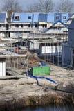 Место жилищного строительства в Нидерландах Стоковые Фото