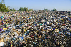 место захоронения отходов Стоковые Изображения RF