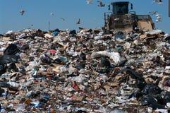 место захоронения отходов compactor Стоковое Изображение RF